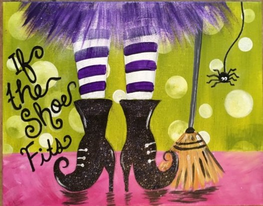 #stepbysteppainting Halloween Canvas Paintings