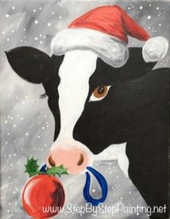 Christmas Cow