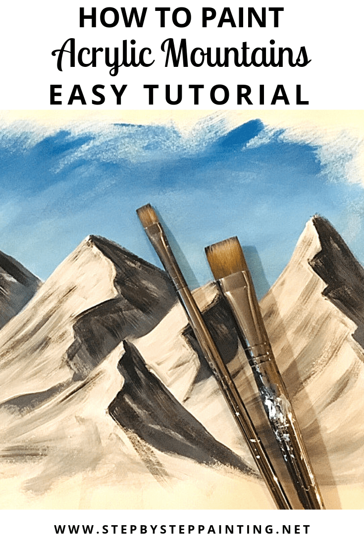 How to Paint a Mountain Landscape in Acrylics — Samuel