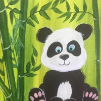 How To Paint A Cute Panda