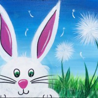 How To Paint An Easter Bunny