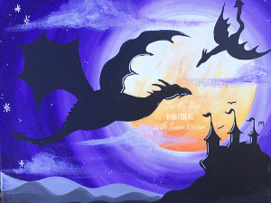 Painting For Kids Step By Step Canvas Painting Online Tutorials