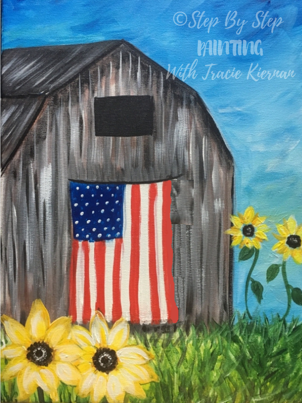 """How To Paint """"American Barn"""""""