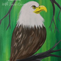 How To Paint A Bald Eagle