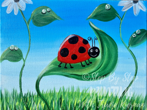 Cute Ladybug Paint With Your Kids