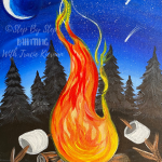 Campfire Painting