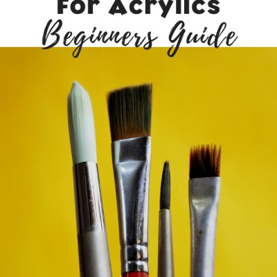 All About Brushes For Acrylic Painting