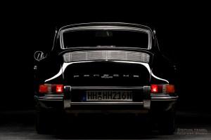 PORSCHE 912, Studioaufnahme, Ansicht von hinten, Automobilfotografie: Stephan Hensel, Hamburg