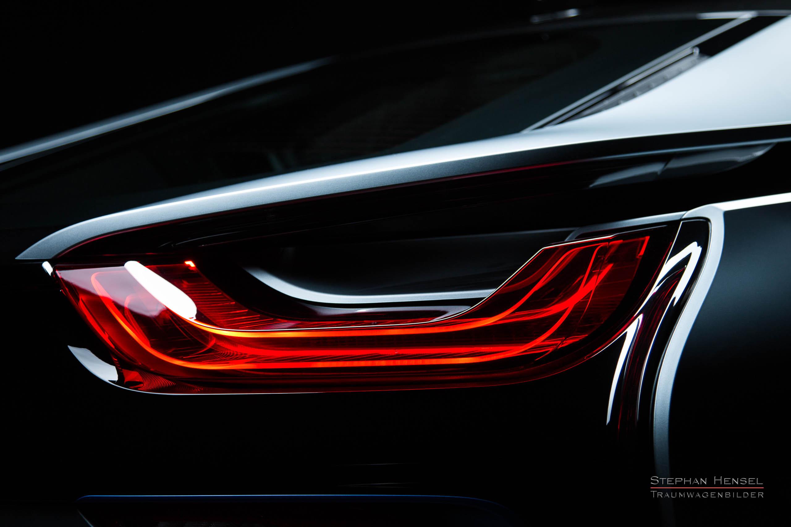 BMW i8, Detailansicht Kotlfügel hinten rechts, Autofotograf: Stephan Hensel, Oldtimerfotograf, Hamburg