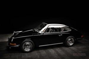 Porsche 912, Oldtimer, Ansicht von links vorn, Autofotograf: Stephan Hensel, Oldtimerfotograf, Hamburg