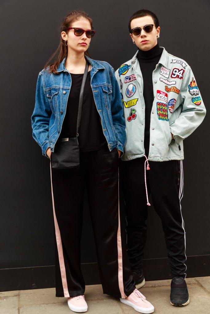 Street Fashion at LFW