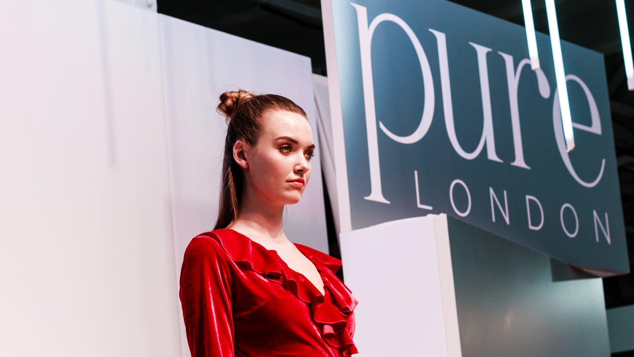 Pure London 2017 Catwalk