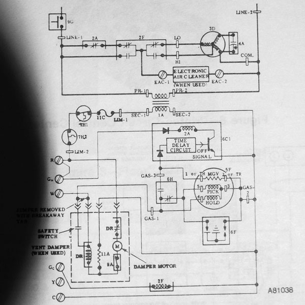furnace blower delay relay furnace wiring diagram free
