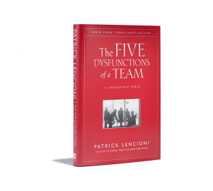 The 5 dysfunctions of a team - book