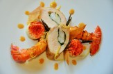 Le plat gagnant réalisé au pont de Brent avec la recette originale de Naïk