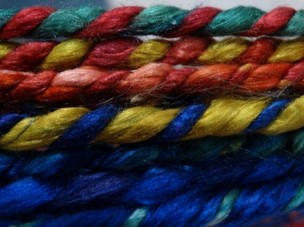 Part of the yarn