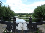 View over a lock