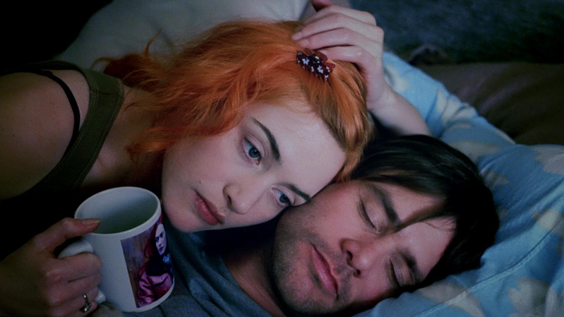A movie still from Eternal Sunshine for the Spotless Mind