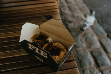 A pie from Borough Market. Picture by Stephanie Green Weddings