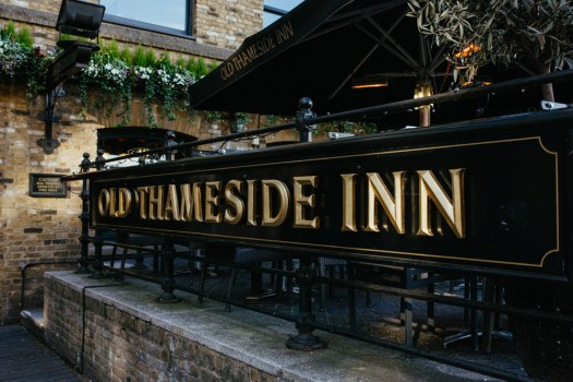 Old Thameside Inn, an old London Pub. Picture by Stephanie Green Weddings