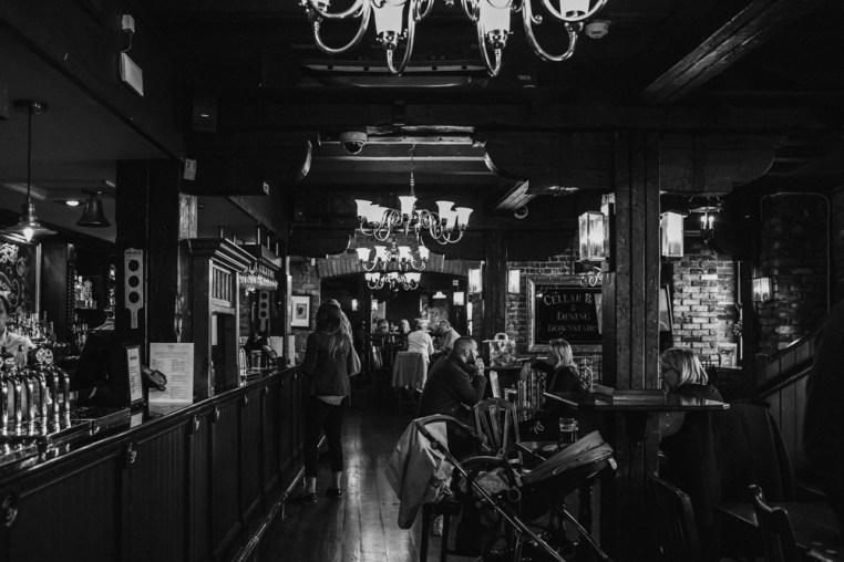 Old Thameside Inn Pub. Borough Market. Picture by Stephanie Green Weddings