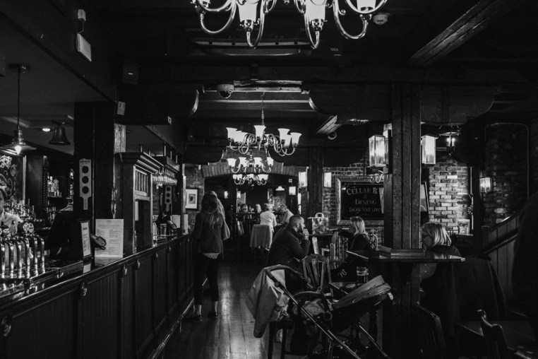 Old Thameside Inn Pub. Borough Market. Picture by Stephanie Green Weddings