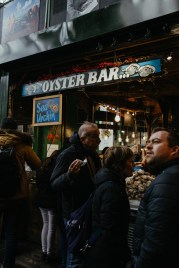 An oyster bar at London's Borough Market. Picture by Stephanie Green Weddings