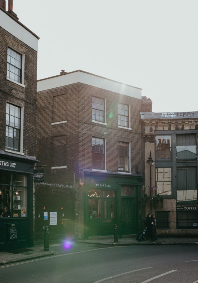 Paul Smith boutique shop at London's Borough Market. Picture by Stephanie Green Weddings