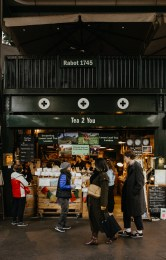 Tea 2 You, a food stall at London's Borough Market. Picture by Stephanie Green Weddings