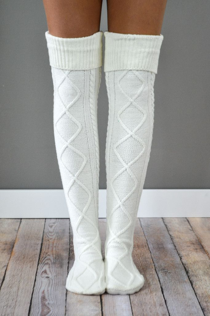 http://www.bootcuffsocks.com/products/cream-diamond-cable-knit-boot-socks?pp=1
