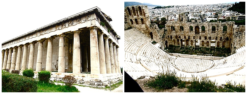 Acropolis in Greece. Stephanie-spring.com