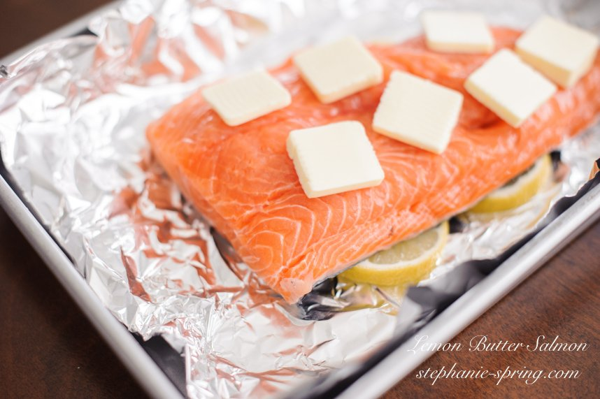 Lemmon Butter Salmon