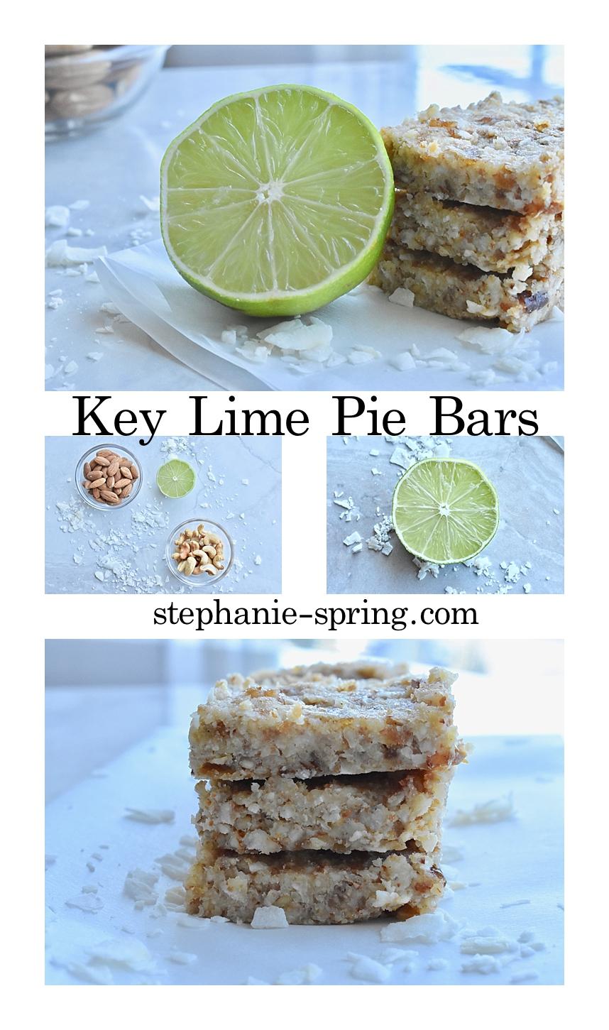 Key Lime Pie Bars--Recipe at: stephanie-spring.com