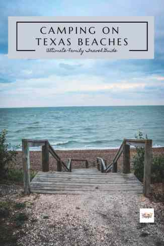 Texas has some amazing beaches.  Check out these essential items you will need to take your family camping at the beach or sand camping in the desert.