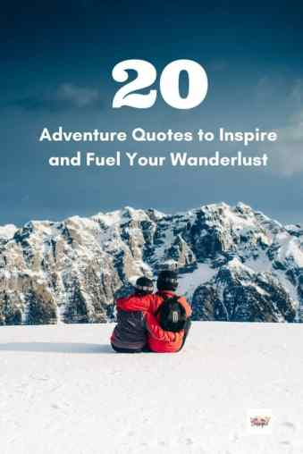20 Inspirational quotes about travel and adventure: because even the most fearless go-getters need that bit of extra motivation to help us tackle the day.