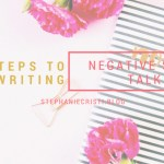 This StephanieCristi article discusses negative self-talk and provides five easy steps to follow towards rewriting this negative internal chatter.