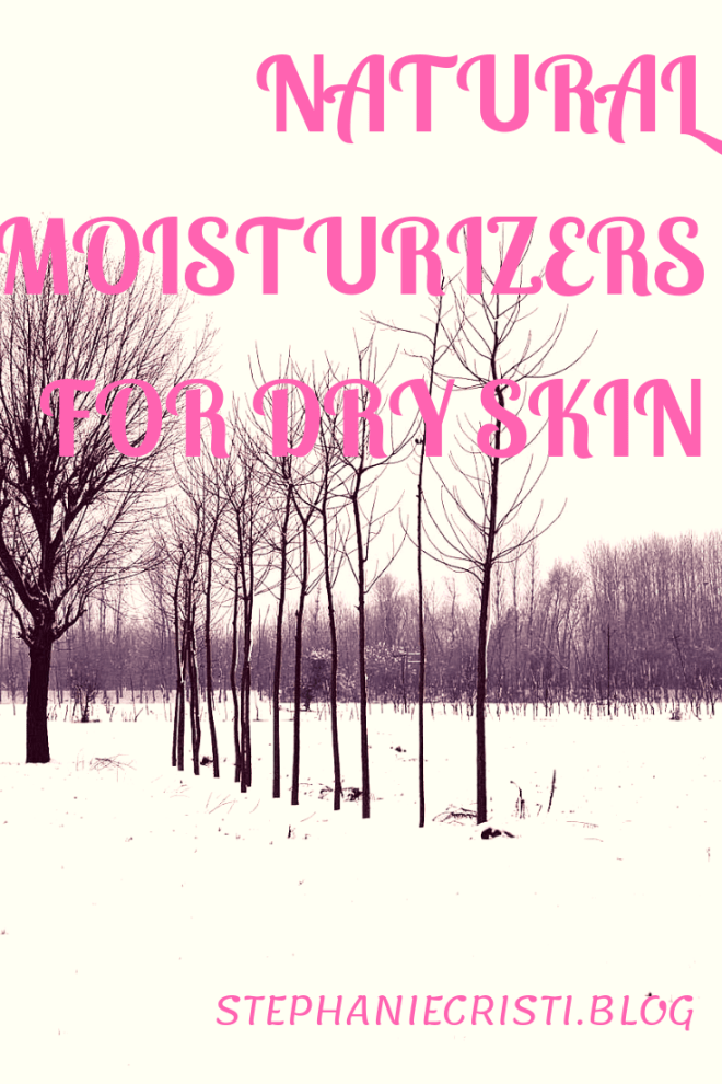 With the dry and cold winter season in full swing, StephanieCristi shares tips on implementing natural moisturizers for dry skin into your daily routine.