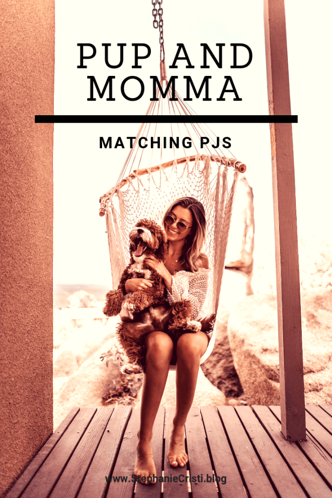 With the winter months right around the corner, be sure to check out these adorable pup and momma matching PJs for you and your family!