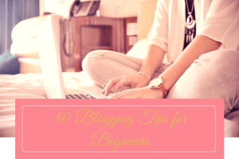 StephanieCristi shares her top 40 blogging tips for beginners in the hopes of inspiring her readers to take the plunge and start their blog already!