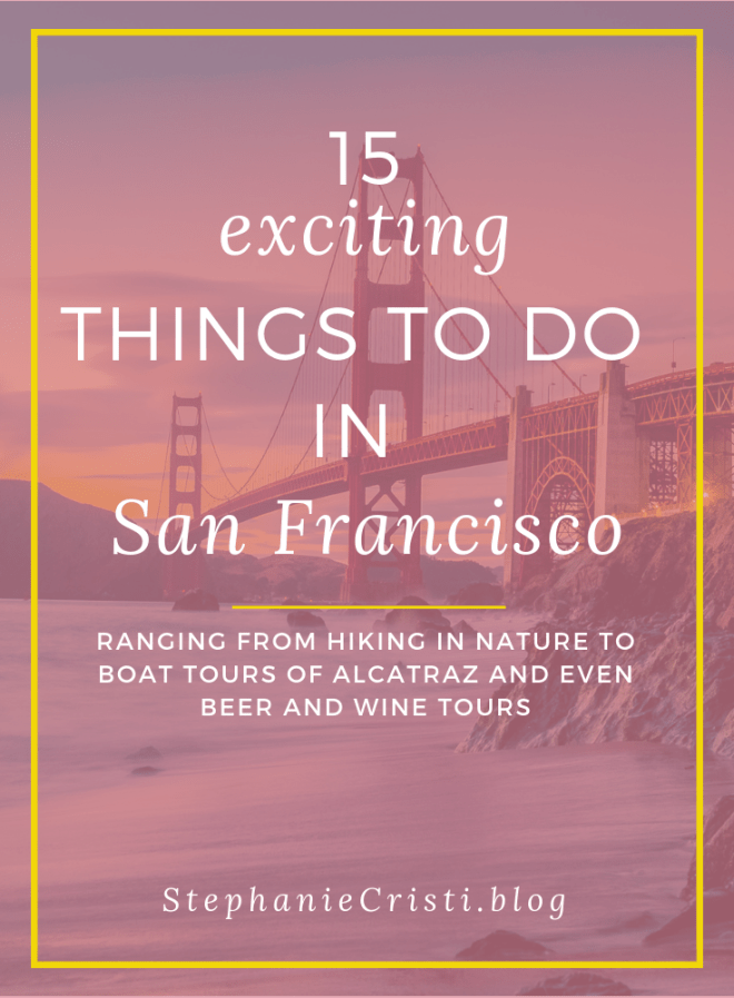 Are you planning a trip to San Francisco? With so many incredible sights to see, ranging from the Giant Sequoias in Yosemite National Park and the Muir Woods if you're into nature, to Alcatraz Island and the Golden Gate Bridge if you're into historical landmarks, you'll surely have plenty of things to do in San Francisco. Click through to check out my top 6 suggested activities in San Francisco.