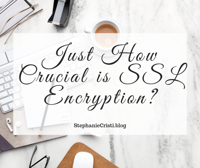 StephanieCristi shares a slideshare on the importance of SSL encryption for online businesses and websites that request personal information from users. #cybersecurity #sslencryption #onlinesafety #bloggers #onlinebusiness