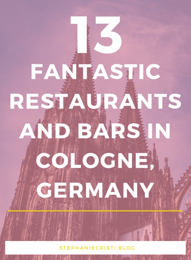 Hungry? Check Out Where to Eat in Cologne, Germany