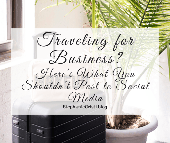 Traveling for business may not always feel like the most adventures or exciting thing to do, but that does not mean you should head to social media to cure your boredom. Here are some of the most important reasons that staying off social media platforms is crucial for your personal safety and professional reputation.