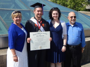 Greg's college graduation shows the power to change your life in action.