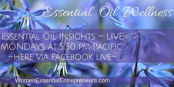 Essential Oil Wellness Facebook Live