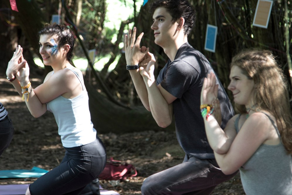 Yoga class with Elspeth Humm