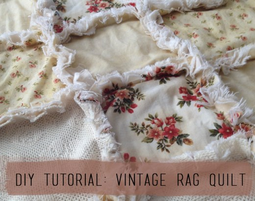 DIY-Tutorial-Vintage-Rag-Quilt-Craft-Photo-Prop-Final-Product-after-wash-title