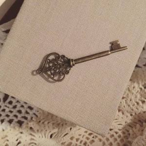365 project 365 days of happy challenge stephanie de montigny day 12, antique key linen booklet notebook vintage lace