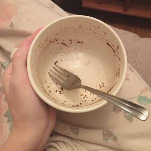 365 days of happy project keto chocolate mug cake day 14 2017