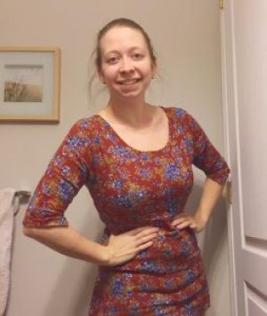365 project 365 days of happy challenge stephanie de montigny day 19, vintage floral shirt top dress